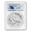 2022 Australia 1 oz Silver Kookaburra MS-70 PCGS (FS, Kook Label)