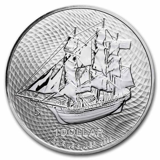 2022 Cook Islands 1 oz Silver Bounty Coin