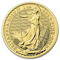 2022 Great Britain 1 oz Gold Britannia BU