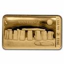 2022 Solomon Islands 1/100 oz Gold Stonehenge