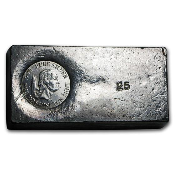 24.45 oz Silver Bar - The Washington Mint