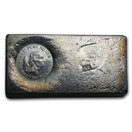 24.70 oz Silver Bar - The Washington Mint