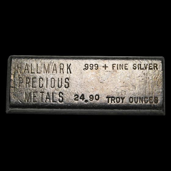 24.90 oz Silver Bar - Hallmark Precious Metals