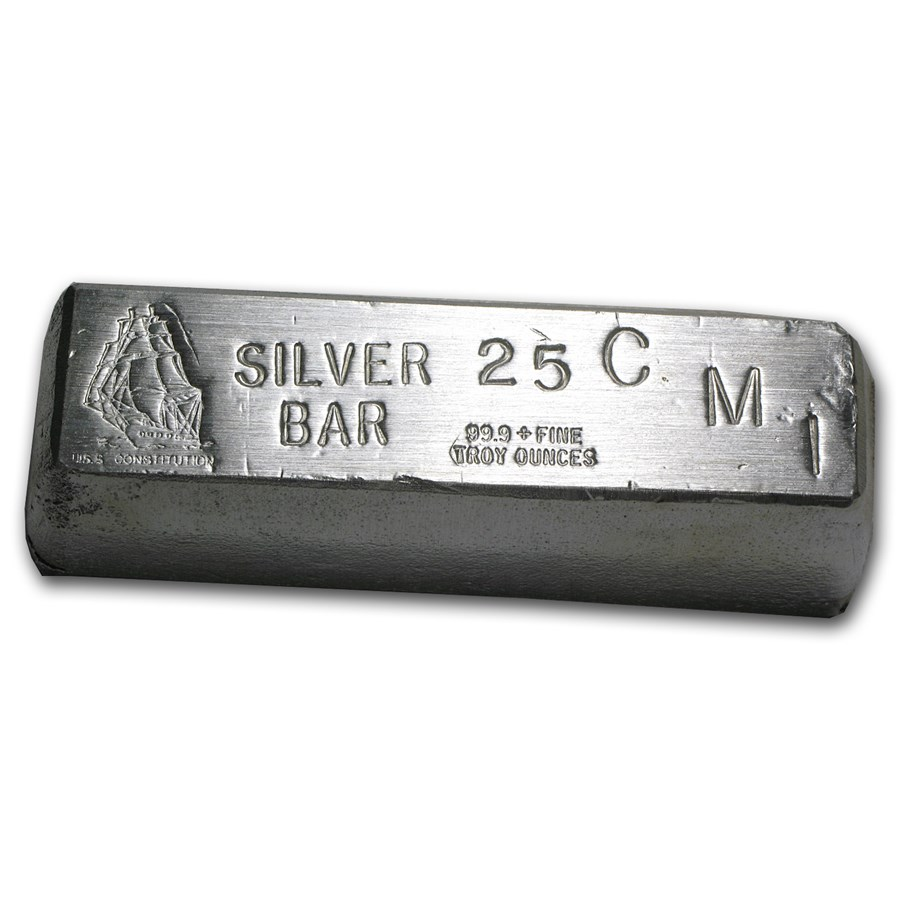 25 oz Silver Bar - CMI