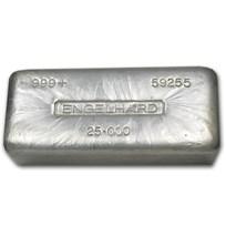 25 oz Silver Bar - Engelhard
