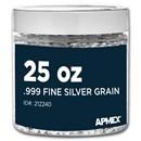 25 oz Silver Grain/Shot .999+ Fine