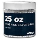 25 oz Silver Grain/Shot .9999+ Fine