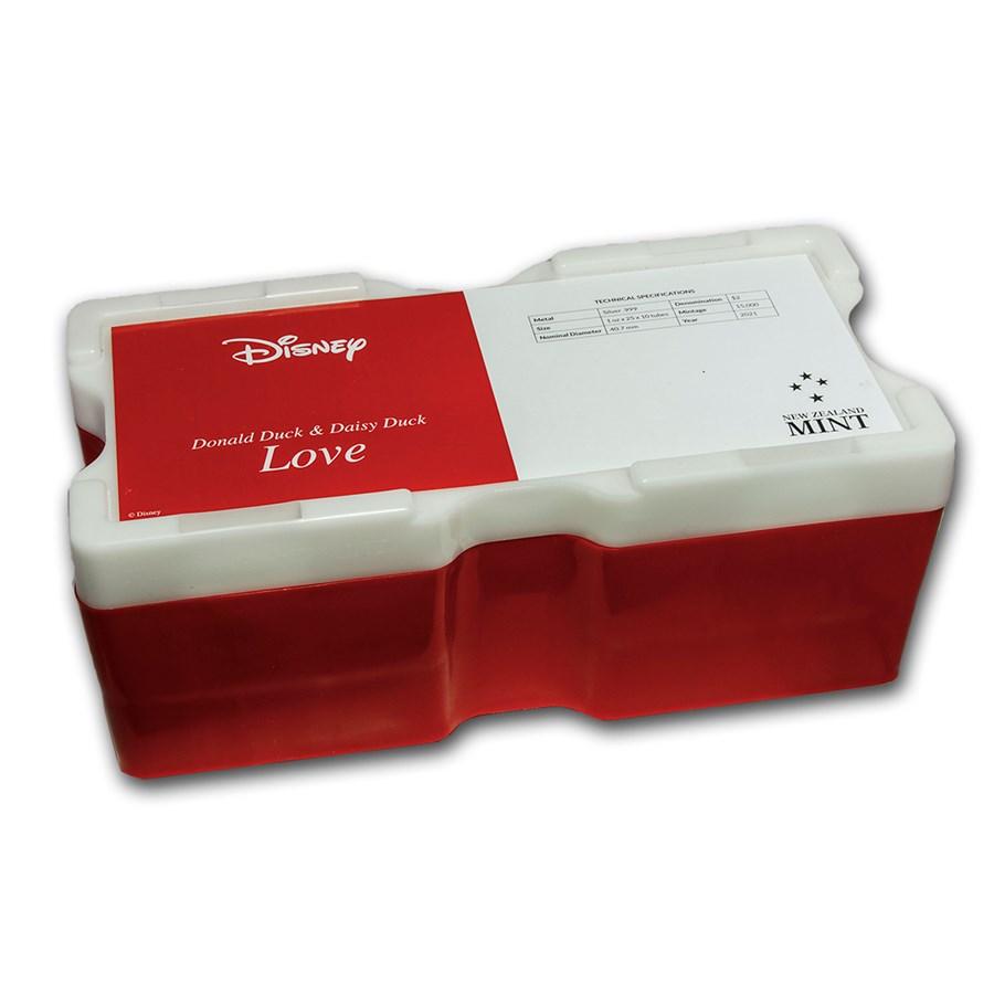 250-Coin 1 oz Silver Disney Donald&Daisy Duck Monster Box (Empty)