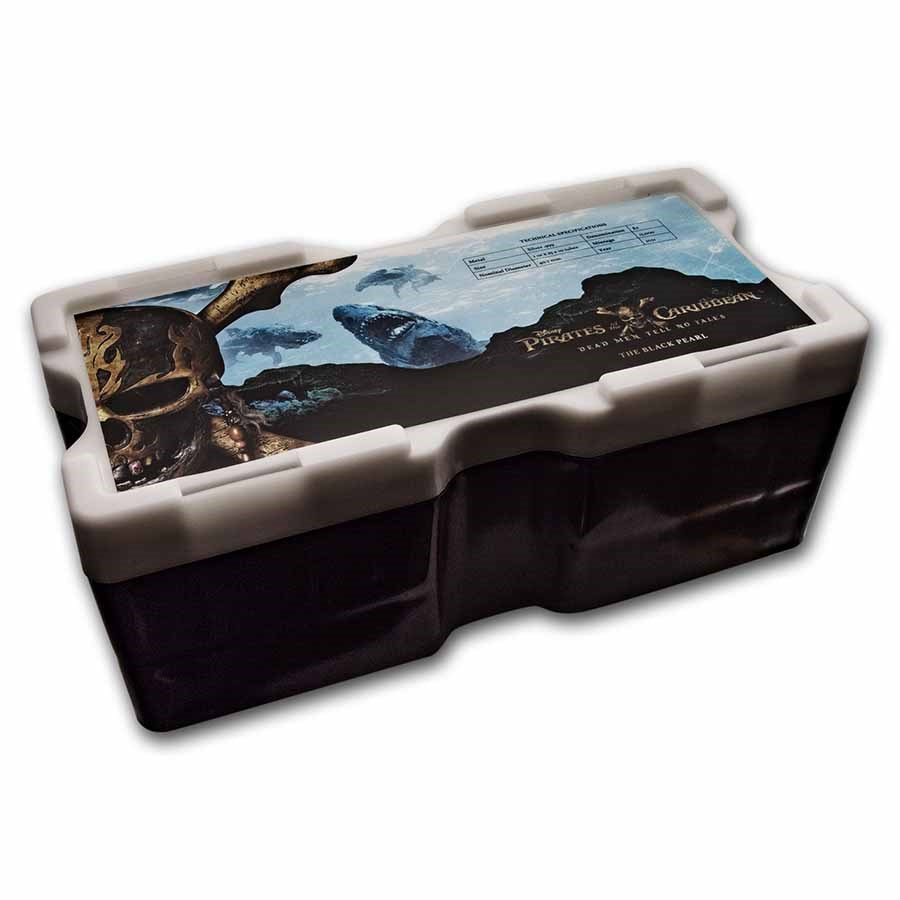 250-Coin Niue 1 oz Pirates of the Caribbean Monster Box (Empty)
