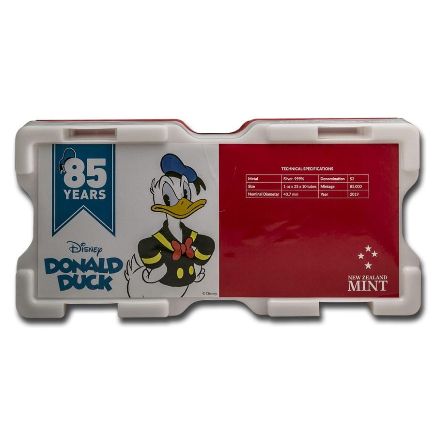 250-Coin Niue 1 oz Silver Disney Donald Duck Monster Box (Empty)