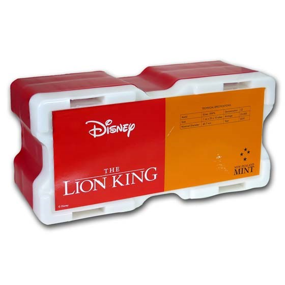 250-Coin Niue 1 oz Silver Lion King Monster Box (Empty)