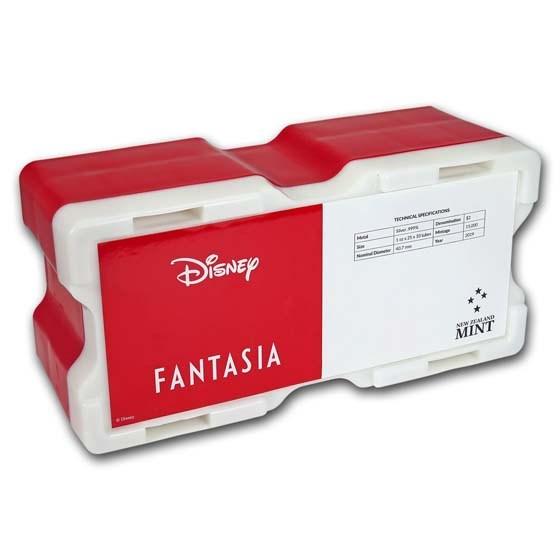 250-Coin Niue 1 oz Silver Mickey Fantasia Monster Box (Empty)
