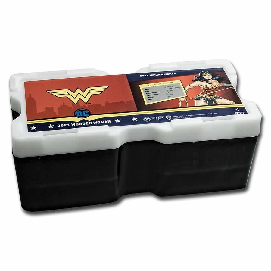 250-Coin Niue $2 DC Wonder Woman Monster Box (Empty)