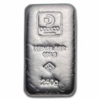 250 gram Silver Bar - Doduco/LEV