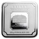 250 gram Silver Bar - Geiger Edelmetalle (Original Square Series)