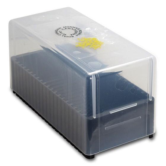 25x 1 gram Gold Maple Leafs Maplegram25™ Storage Box (USED)