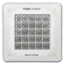 25x 1 gram Silver Bar - Geiger Edelmetalle (Original Multicard)