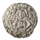 2nd Bulgarian Empire Silver AR Grosh 1356-1396 Ivan Stratsimir XF
