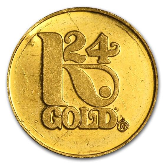 3 gram Gold Round - Secondary Market
