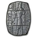 3 oz Hand Poured Silver Relic Bar - Horus