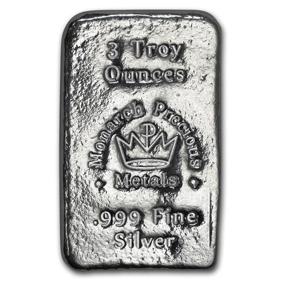 3 oz Silver Bar - Secondary Market