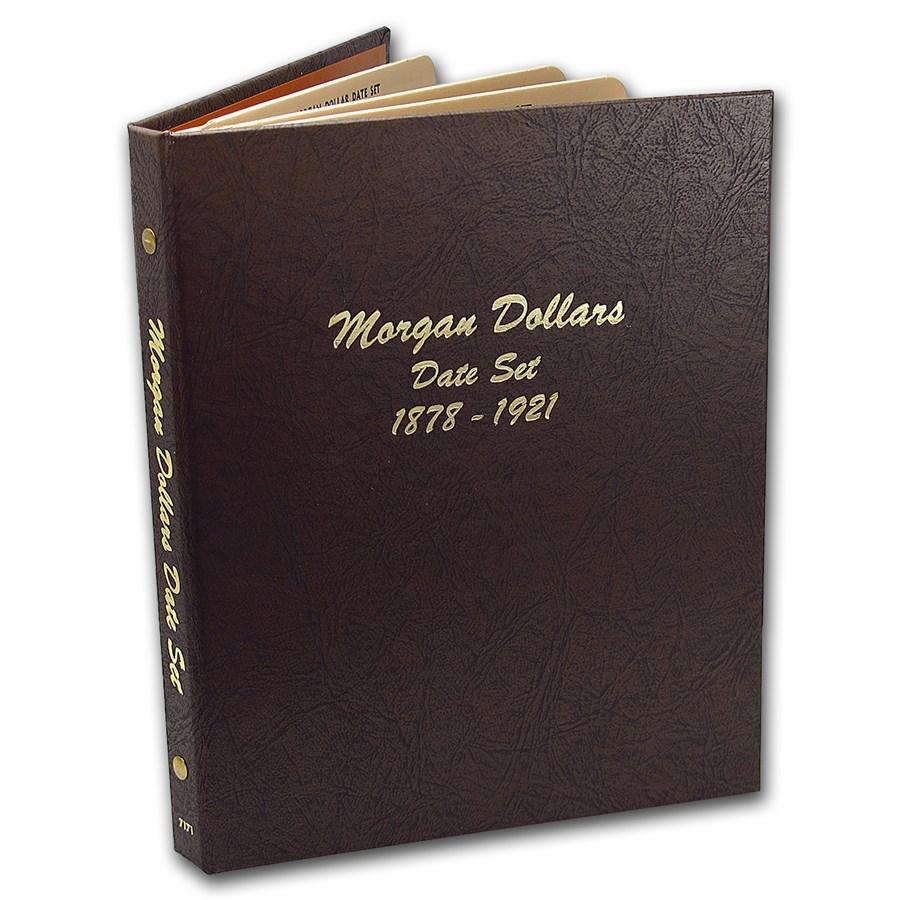 32-Coin Morgan Dollar Date Set (Dansco Album)