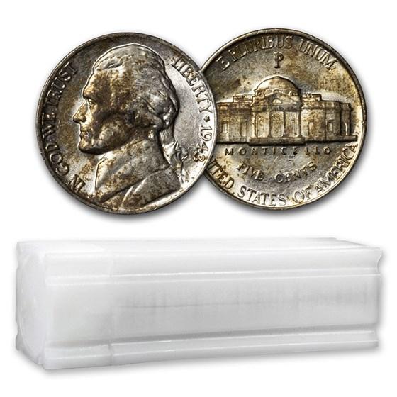 35% Silver War Nickels $2 Face Value AU