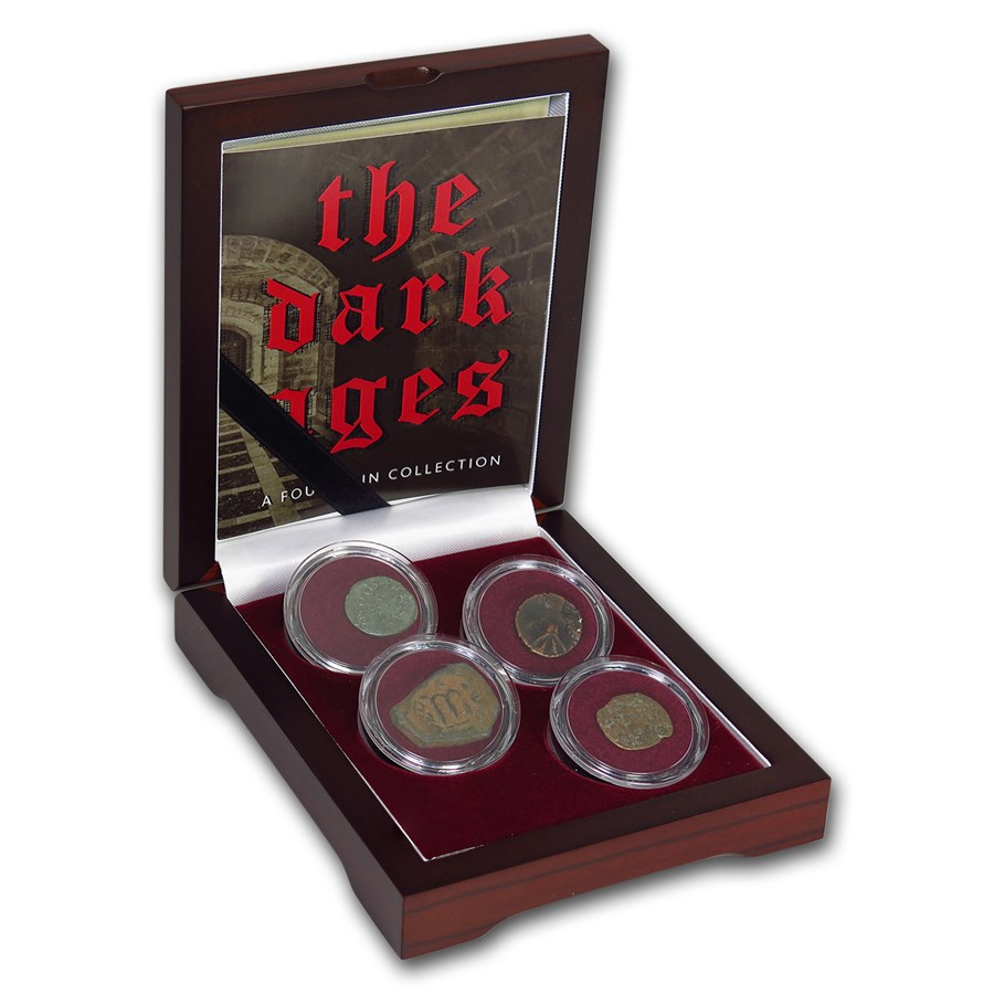 (393-750 AD) The Dark Ages 4 Coin Collection