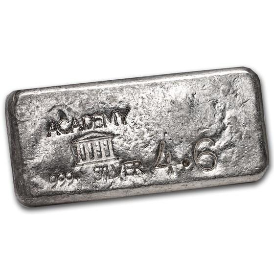 4.6 oz Silver Bar - Academy (Vintage)