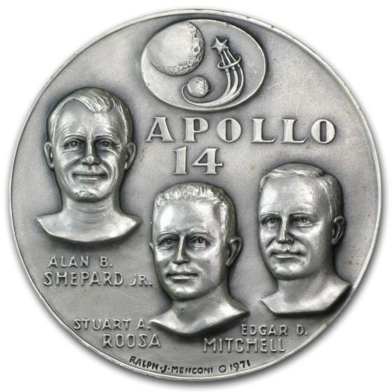 4.69 oz Silver Round - APOLLO 14