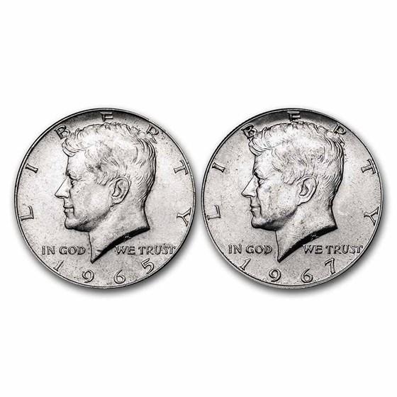 40% Silver Coins $1 Face Value Avg Circ