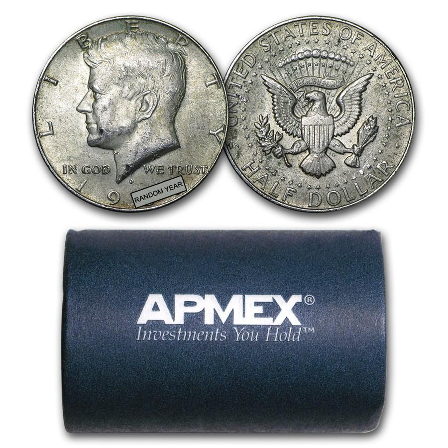 40% Silver Coins $10 Face Value Roll Avg Circ