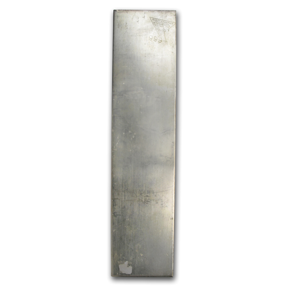 41.49 oz Silver Bar - Handy & Harman