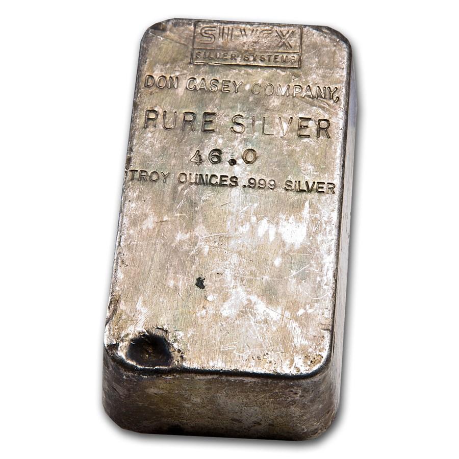 46.0 oz Silver Bar - Don Casey Company