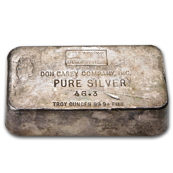 46.3 oz Silver Bar - Don Casey Company