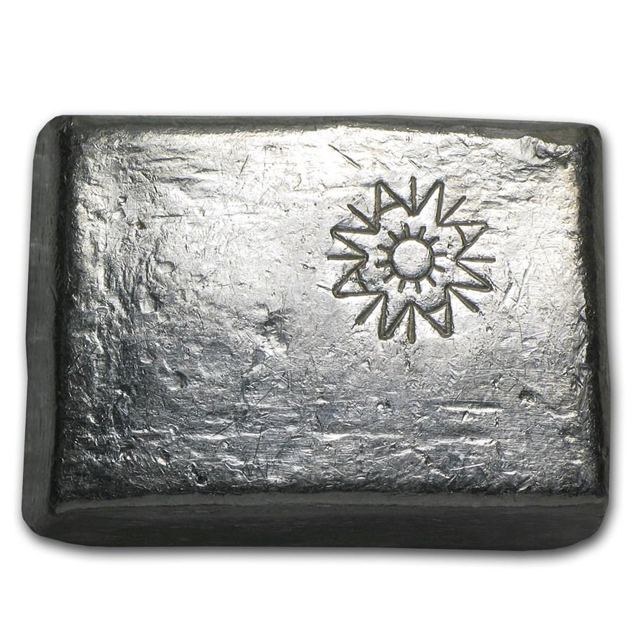 5.77 oz Silver Bar - A W Smelter