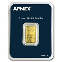 5 gram Gold Bar - APMEX (TEP)