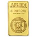 5 gram Gold Bar - APMEX