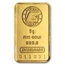 5 gram Gold Bar - Engelhard