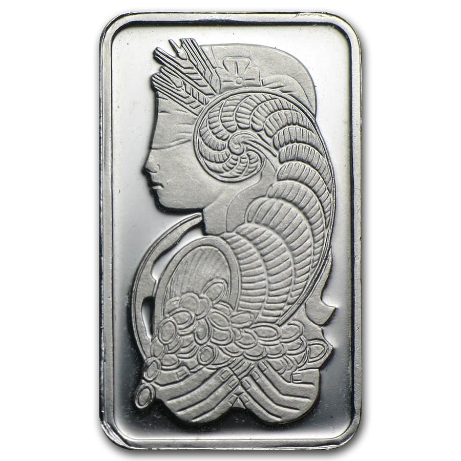 5 gram Platinum Bar - Secondary Market