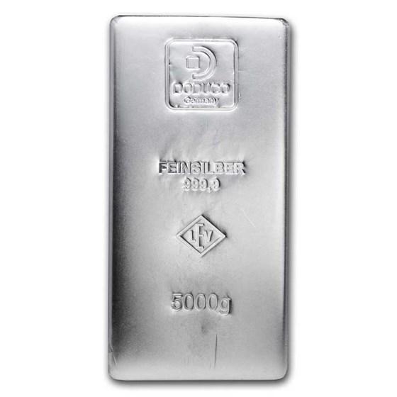 5 kilo Silver Bar - Secondary Market