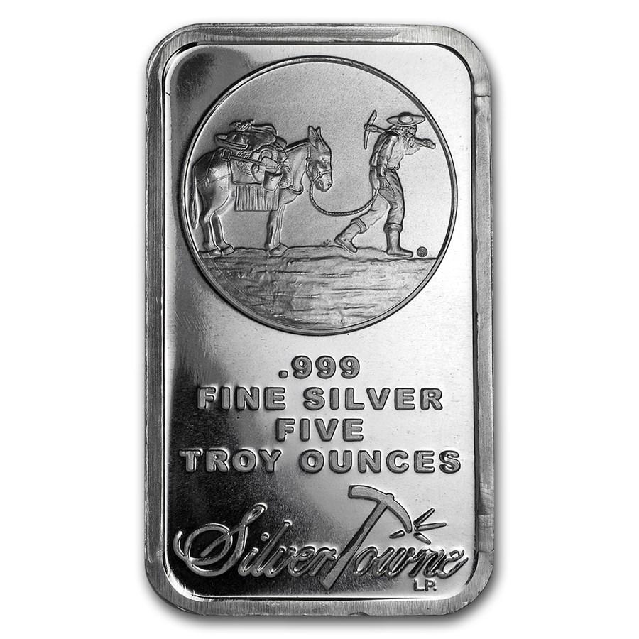 5 oz Silver Bar - SilverTowne