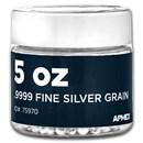 5 oz Silver Grain/Shot .9999+ Fine