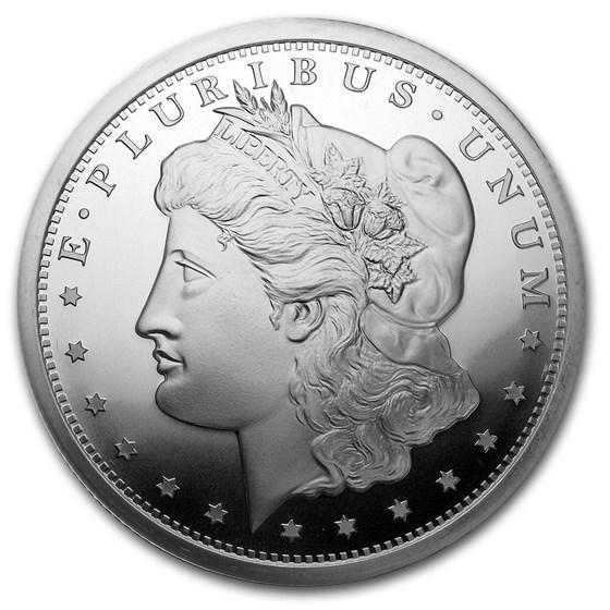 5 oz Silver Round - Morgan Dollar