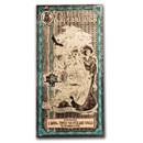 5 Utah Goldback - Aurum Gold Foil Note (24k)