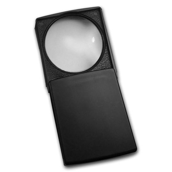 5 X Power Bausch & Lomb Pocket Magnifier