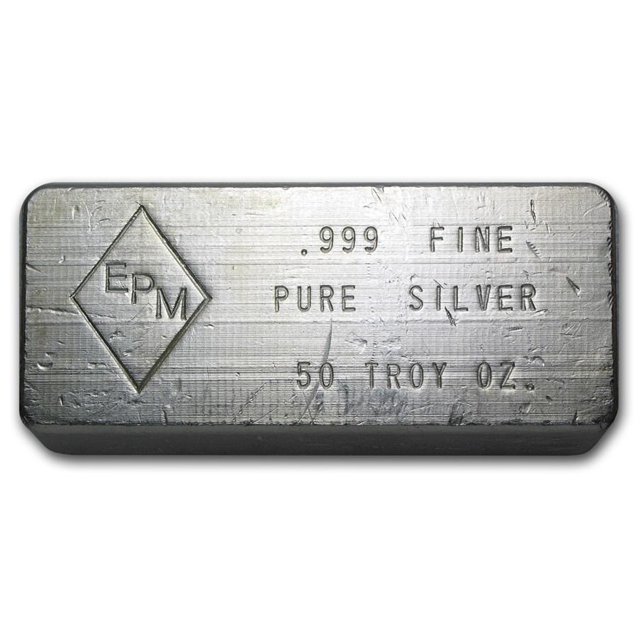 50 oz Silver Bar - EPM