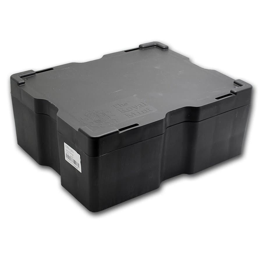 500-Coin 1 oz Silver Britannia Monster Box (Empty, Black)