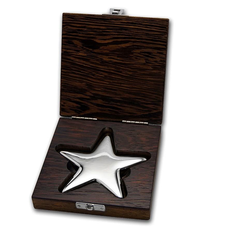 500 gram Silver Star Bar - Geiger Edelmetalle