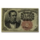 5th Issue Fractional Currency 10 Cents AU (FR#1264)
